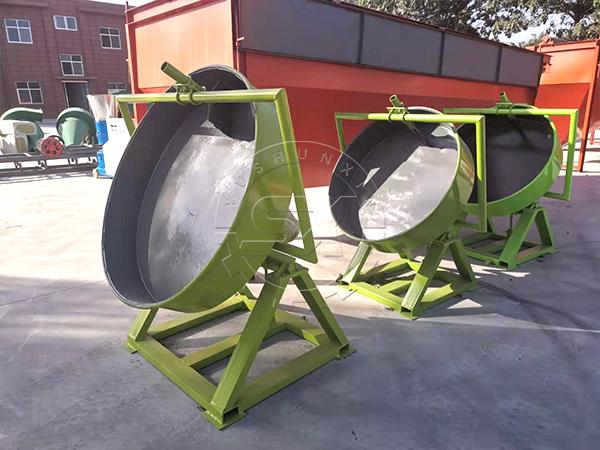 Compact NPK Compound Fertilizer Production Line , Disc